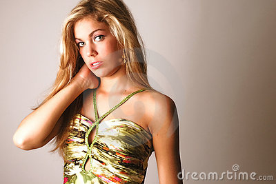 Glamour/fashion portrait