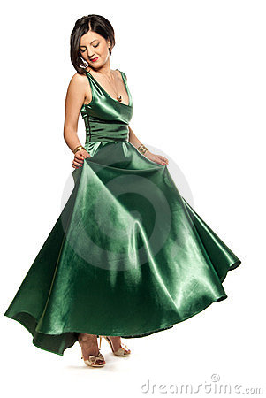 Glamour in green