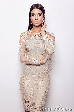 Free Glamour Lady Portrait. Stock Image - 86347541