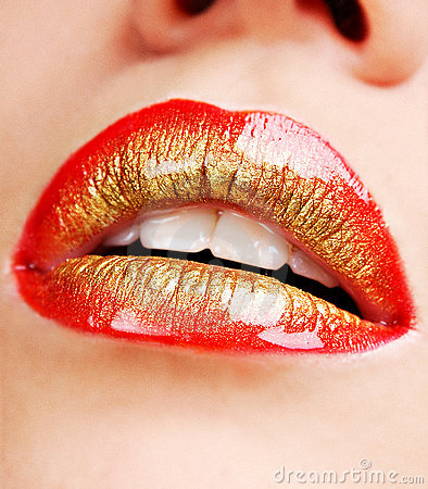 Glamour lips