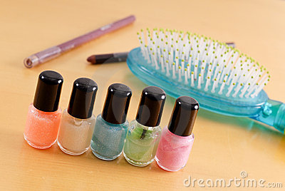 Glamour Nail Polish Set