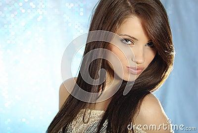 Glamour portrait of woman