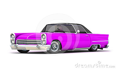 Glamour Retro Car