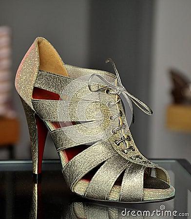 Glamour silver sandal