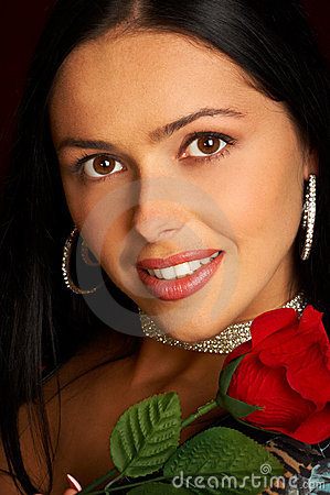 Free Glamour Smiling Woman Royalty Free Stock Photo - 869205