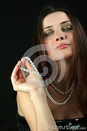 Glamour snob  woman
