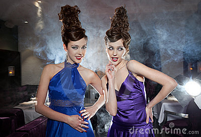 Glamour twins