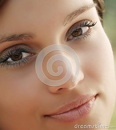 Free Glamour Women Closeup Stock Image - 8975061