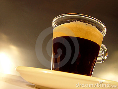 Glas of Coffee