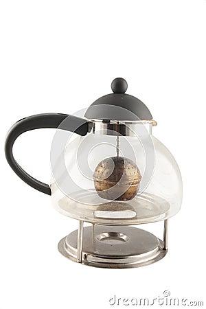 Glas teapot