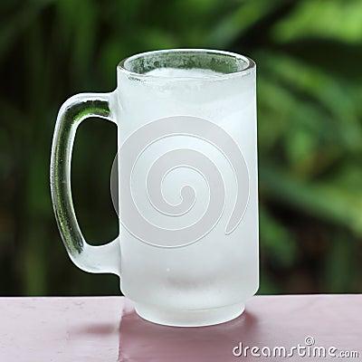 Glas vom Frostraum