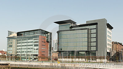 Glasgow financial district