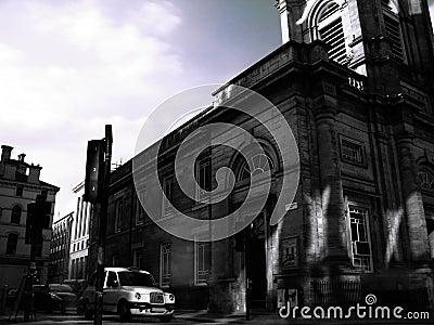 Glasgow urban scene