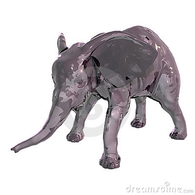 The Glass Baby Elephant - 01
