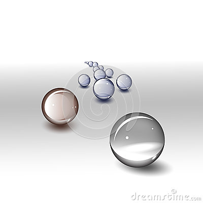 Free Glass Balls Royalty Free Stock Photography - 30622607