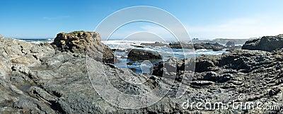 Glass beach panorama