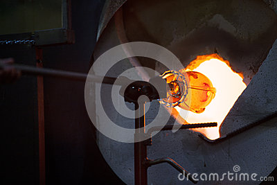 Glass in Blast Furnace