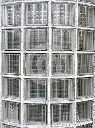 Glass blocks window background