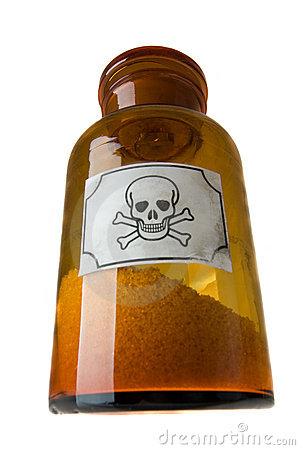 Free Glass Bottle Of Poison Stock Images - 7755054