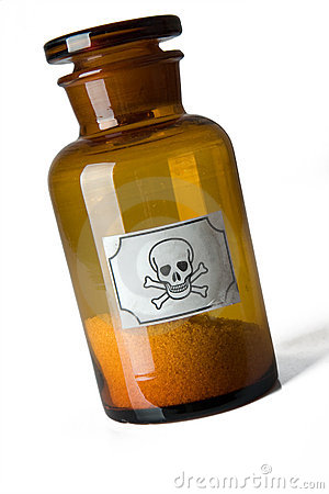 Free Glass Bottle Of Poison Stock Photo - 7755080