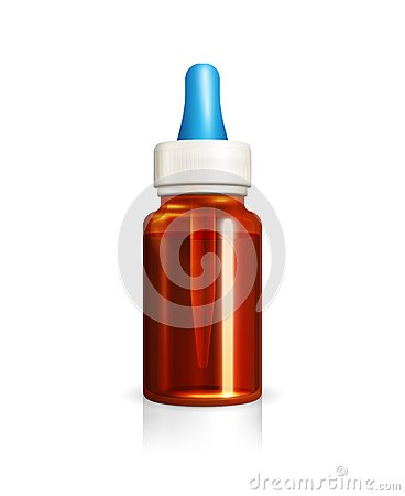 Free Glass Bottle With Medicine Dropper Royalty Free Stock Photography - 50591227
