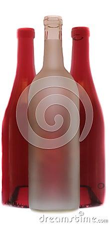 Free Glass Bottles Royalty Free Stock Image - 11664666
