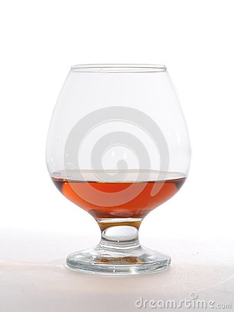 Glass of brandy