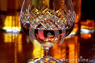 Glass of Brandy A