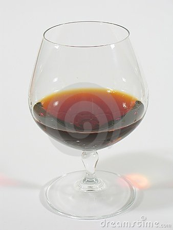 Glass with Brandy I
