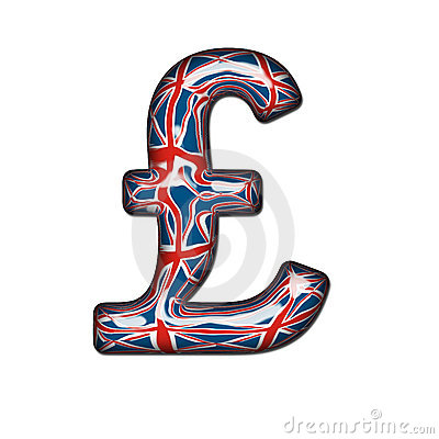 Glass British Pound