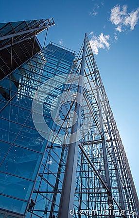 Sanomatalo, tall glass office building