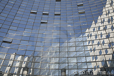 Glass building - La Defense
