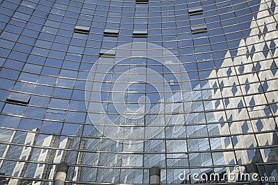 Glass building - La Defense