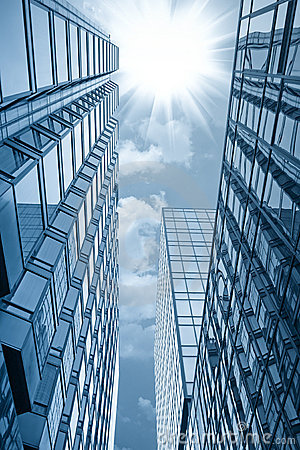 Free Glass Building Under The Sun Royalty Free Stock Photography - 19775547