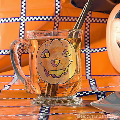 Free Glass Cider Halloween Square Stock Photo - 6612790