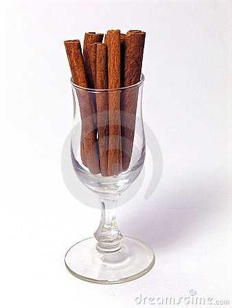 Glass of Cinnamon