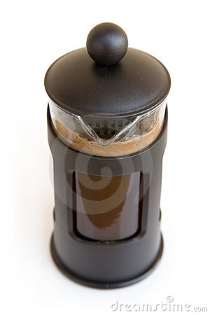 Glass coffee percolator