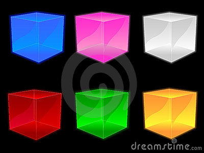 Glass Cubes EPS