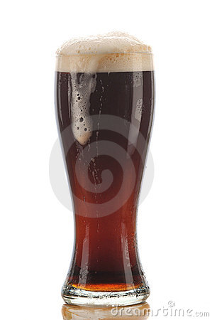 Glass of Dark Ale