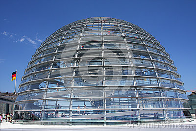 Glass dome Editorial Stock Photo