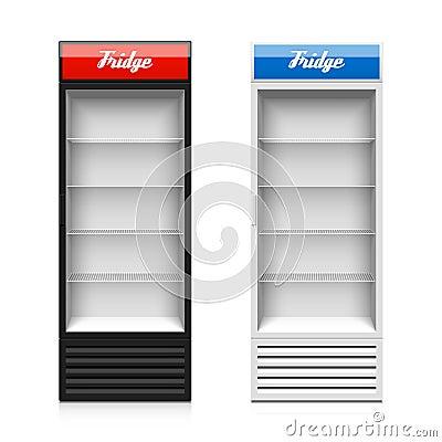 Free Glass Door Display Fridge Stock Image - 49874421