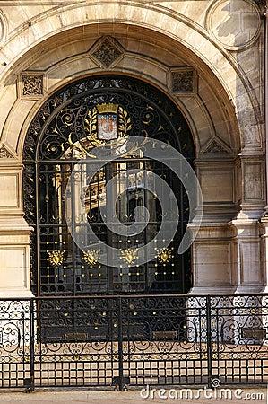 Free Glass Door - Hotel De Ville Stock Photos - 2420813