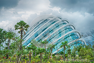 Glass enclosure, Gardens by the Bay, Singapore