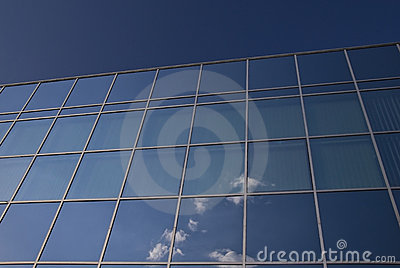 Glass facade - corporate building
