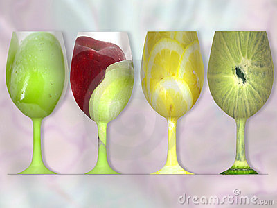 Glass of Fruit