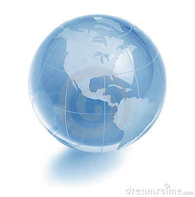 Free Glass Globe Royalty Free Stock Photography - 16533127