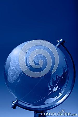 Glass globe