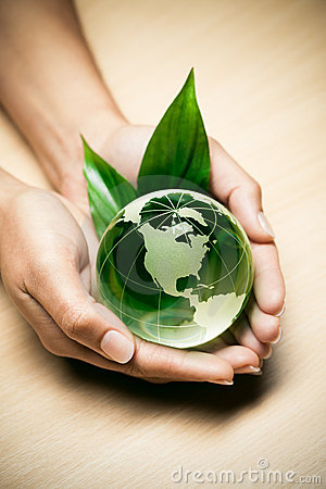 Free Glass Globe In Hands Royalty Free Stock Photo - 16247905