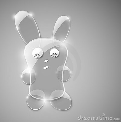 Glass hare