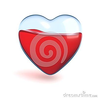 Free Glass Heart Royalty Free Stock Photo - 6170655